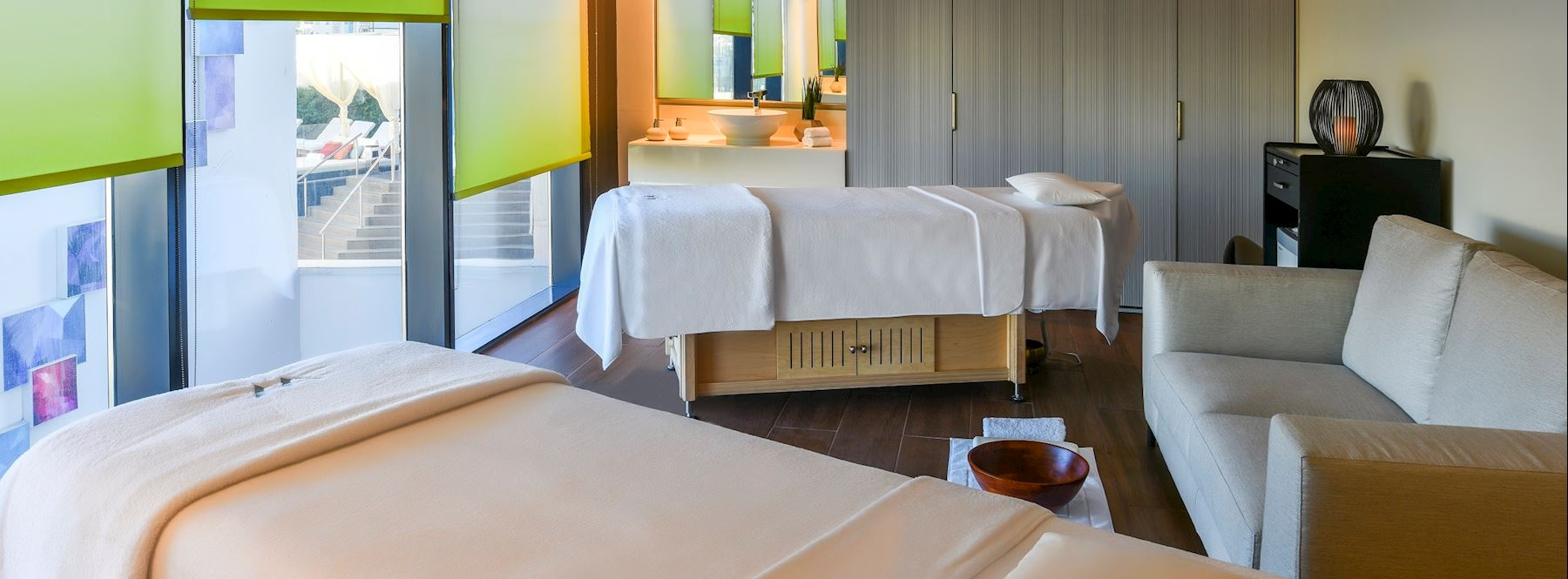 An oasis of holistic therapy